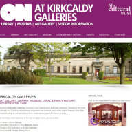 Kirkcaldy Galleries website