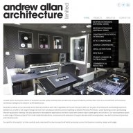 Andrew Allan Architecture website