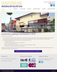 Dunfermline Museum and Gallery website