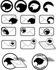 Eagle Envelopes icon suite
