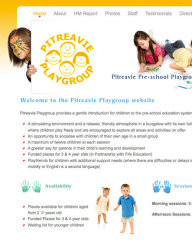 Pitreavie Playgroup website