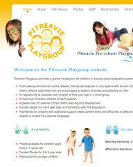 Pitreavie Playgroup website