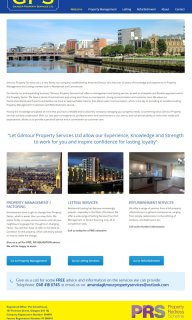 Gilmour Property Services website