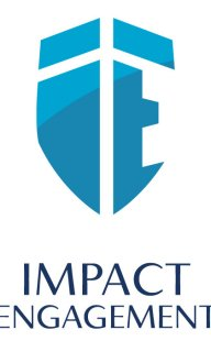 Impact Engagement logo design