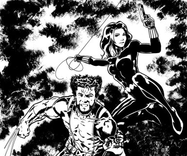 Wolverine / Black Widow Commission